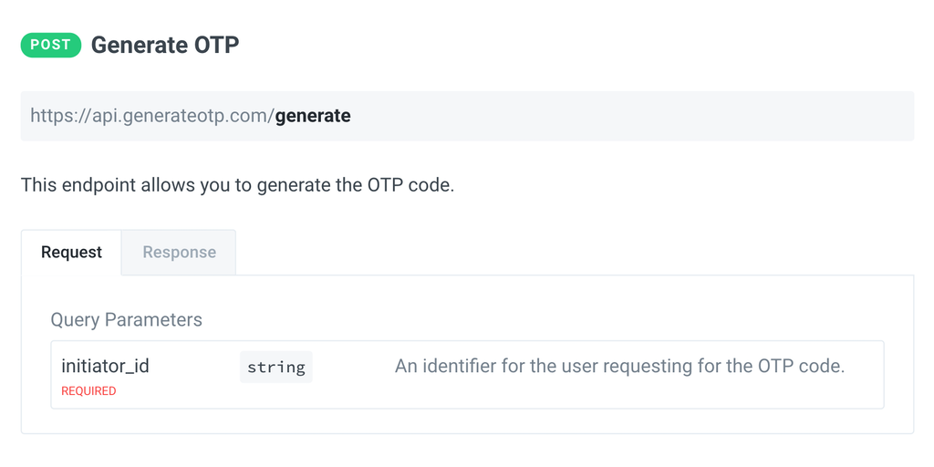 GenerateOTP - A simple API to generate and validate OTP codes | Product Hunt