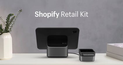 Shopify Retail Kit - Shopify's new POS hardware for managing