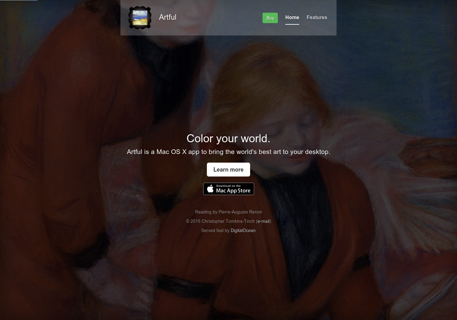 Artful - The world's best art on your Mac desktop | Product Hunt