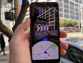Google Live View - Google Maps now has AR enabled directions