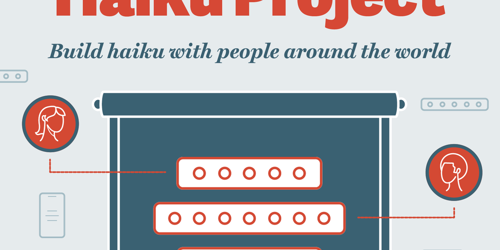 Haiku Project by Baronfig - Build haiku with people around the world | Product Hunt