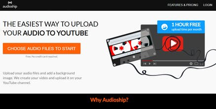 Audioship - Post audio to YouTube | Product Hunt