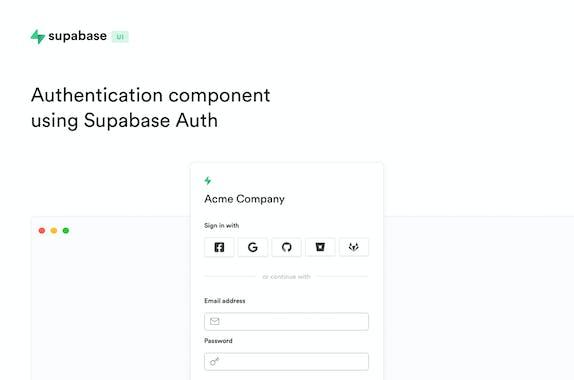 Supabase UI Gallery Image 4