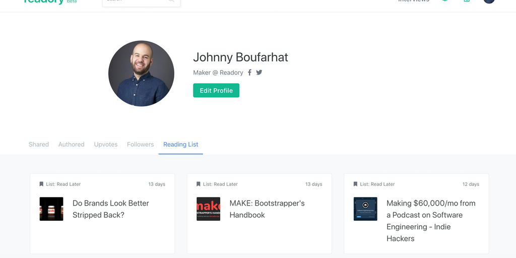Readory - The platform for online written content 📝 | Product Hunt