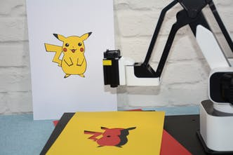Hexbot Robot Arm - All-in-one robot arm that turns your desktop into