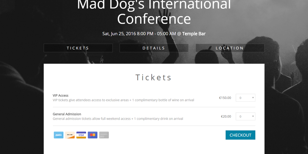 Attendize - Free, open-source ticket selling & event