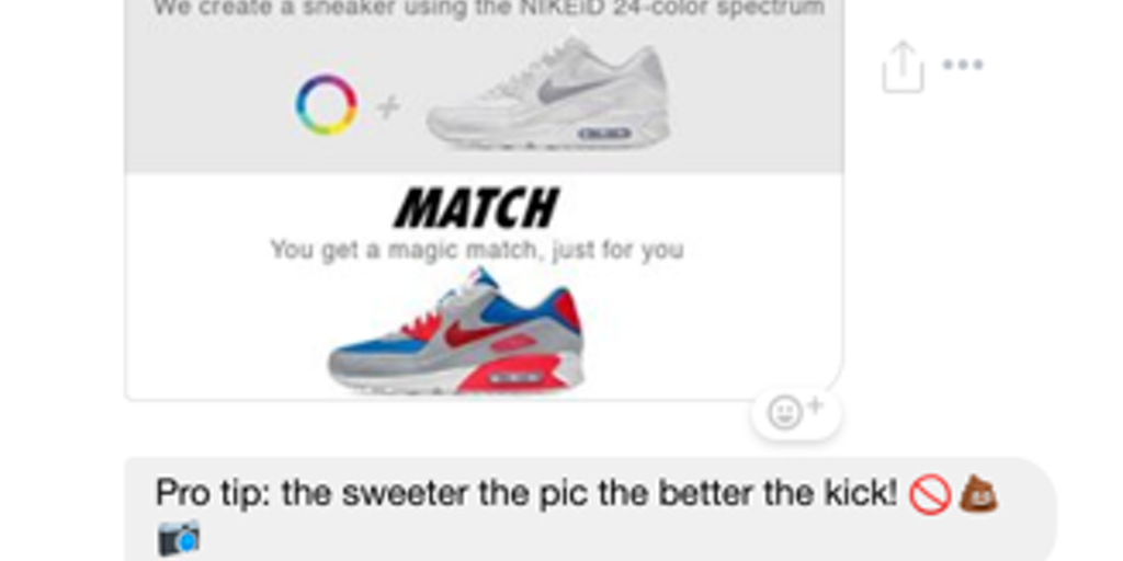 Nike StyleBot - Nike's bold new chatbot Style outfits or