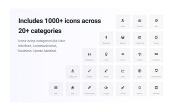 Unicons - Opensource vector icons and icon-font library