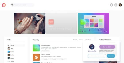 Product Hunt Clone Template - Build your very own Product Hunt in