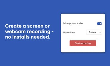 Hubcap - A free no-install screen recorder for Chrome and