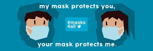 Masks4All - Wear a homemade mask to slow the spread of COVID-19 ...