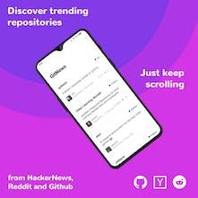 GitNews - Trending repositories from GitHub, HackerNews & Reddit