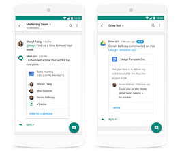Hangouts Chat by Google - Intelligent team communication | Product Hunt