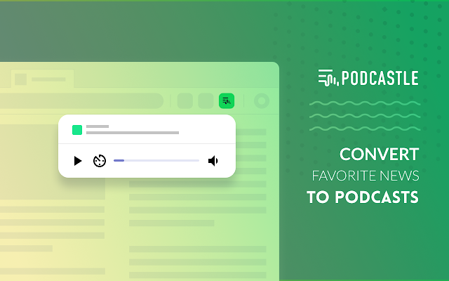 Podcastle Product Hunt Image