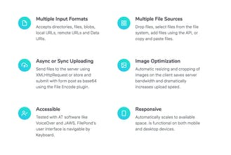 FilePond js - Uploads anything you throw at it | Product Hunt