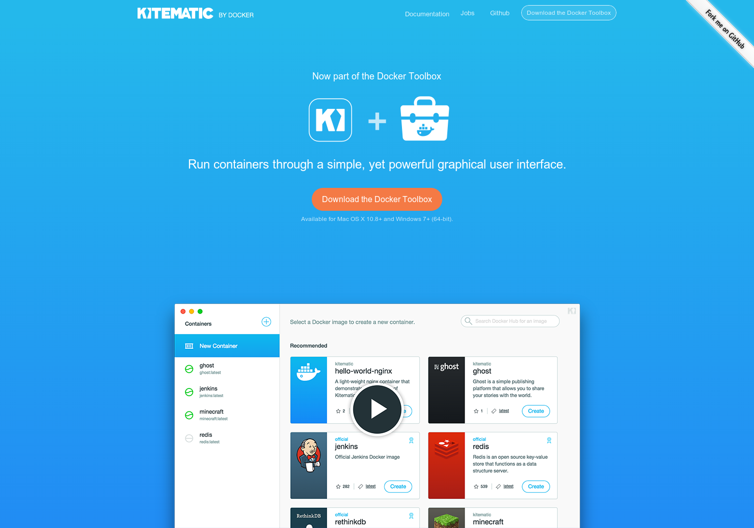 Kitematic - The easiest way to start using Docker on your Mac