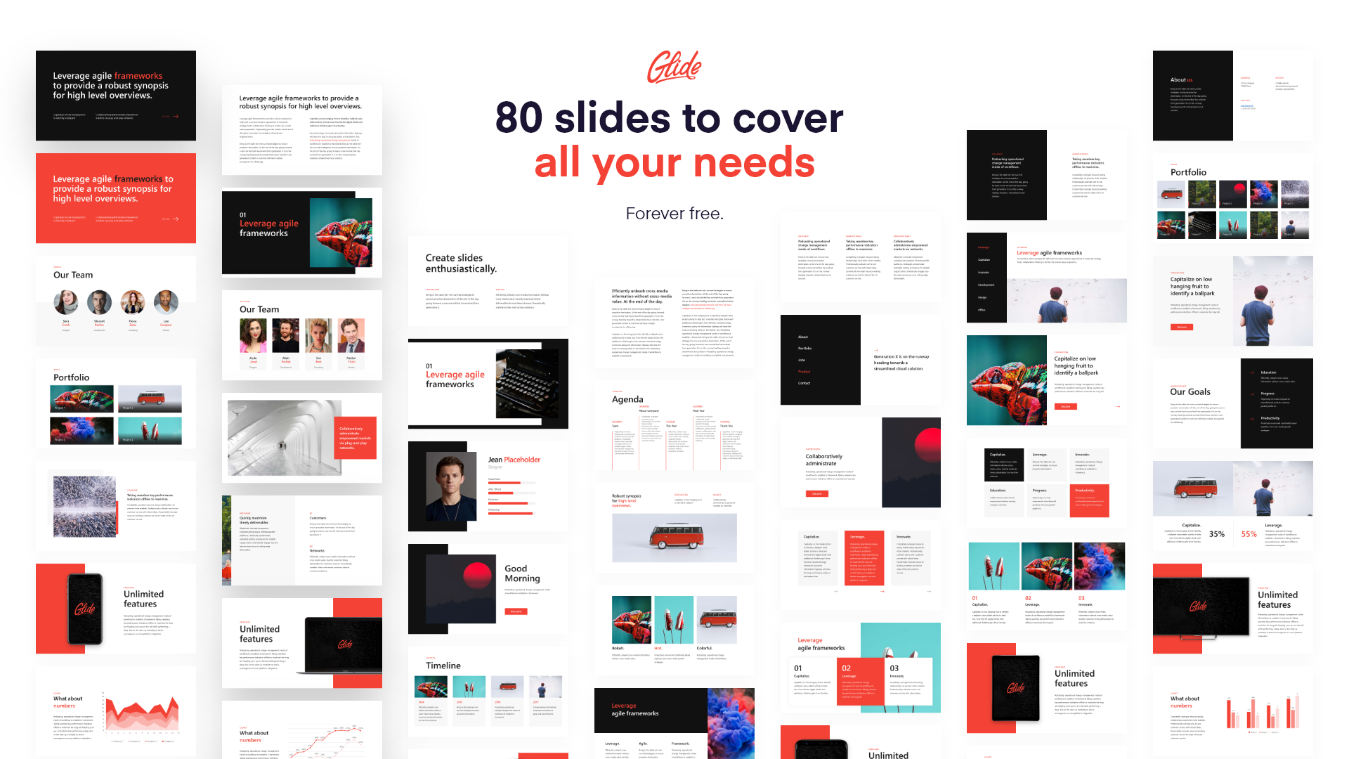 Glide Une Collection De Plus De 80 Templates Powerpoint Gratuits
