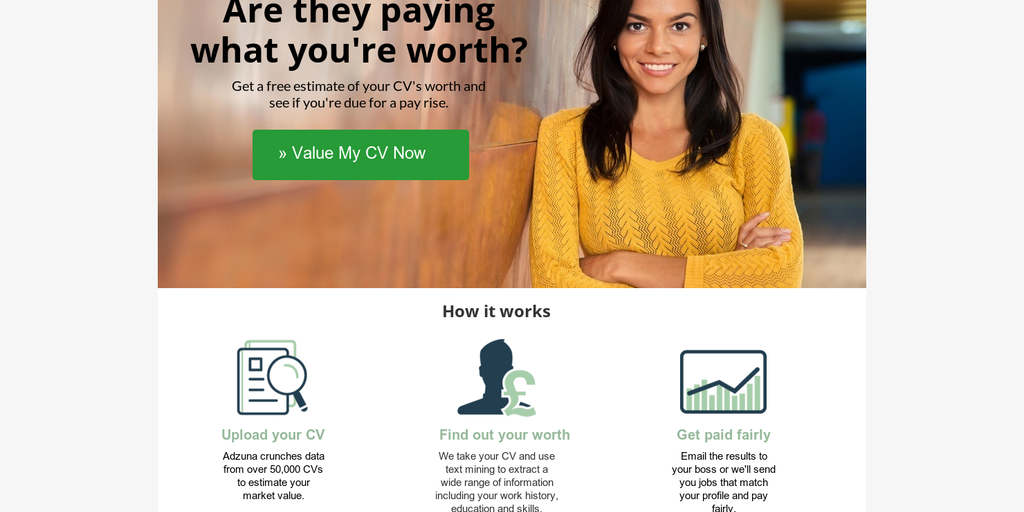 Valuemycv Analyses Your Cv To See What You Should Be Earning