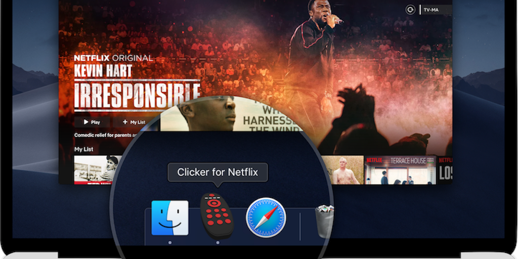Clicker for Netflix - A native Netflix player for macOS with