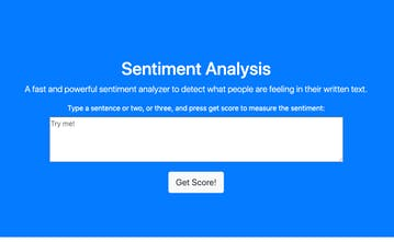 Sentigrade - A sentiment analysis API for customer surveys | Product