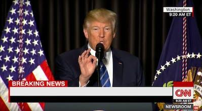 Trump CNN - Make your own CNN breaking news headlines for