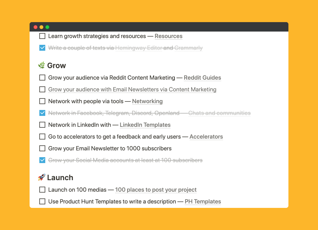 Startup Growth KIT Product Hunt Image