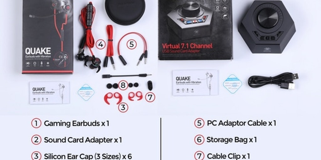e6fd1f1f35d Quake - Lightest virtual 71 gaming earbuds with vibration | Product Hunt