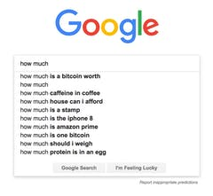 what is one bitcoin worth