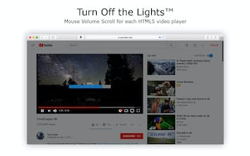 Turn Off the Lights for Safari - Darkens the rest of the web