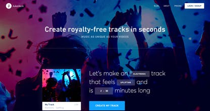 Jukedeck 2 0 - Create unique, royalty-free music for your