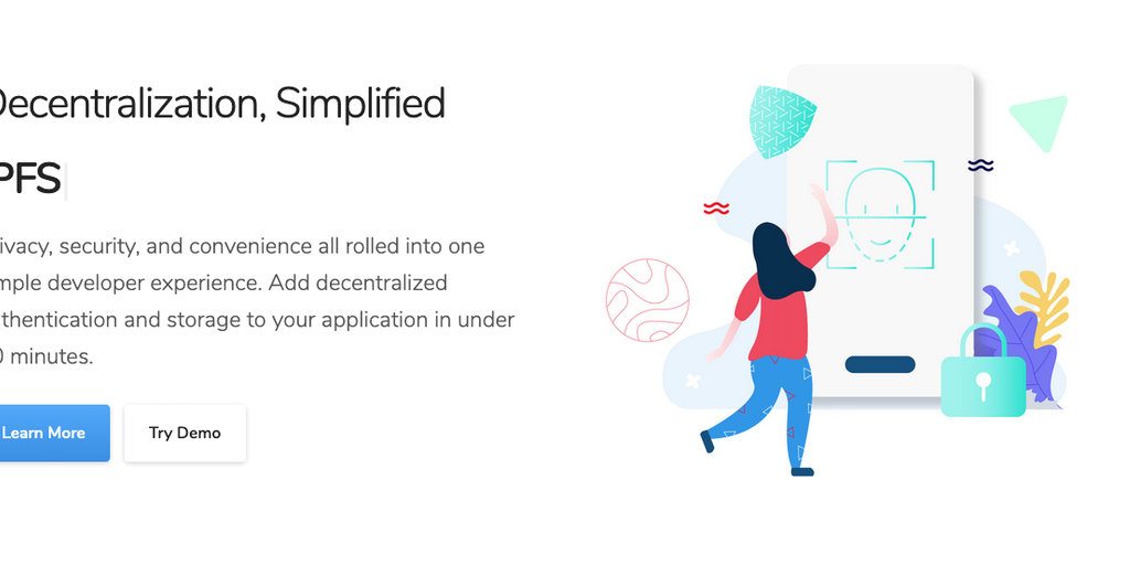 SimpleID - Add decentralized auth and storage to your app in 10 minutes | Product Hunt