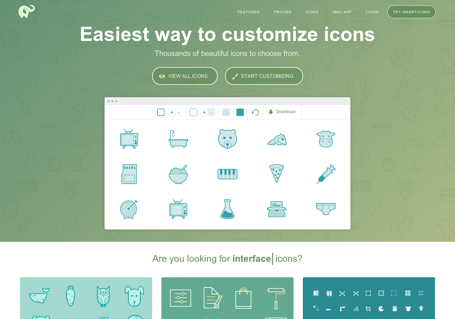 SmartIcons - Download 1450 premium icons for free | Product
