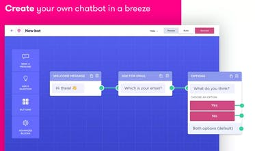 Landbot - Lead Chatbot - Website based Chatbot builder