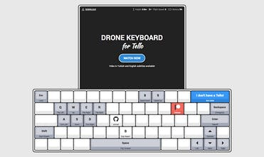 Drone Keyboard for Tello - A new way to control your Tello Drone