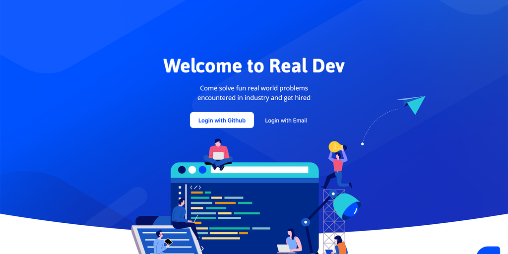 Real Dev - Real-life coding skill challenge | Product Hunt
