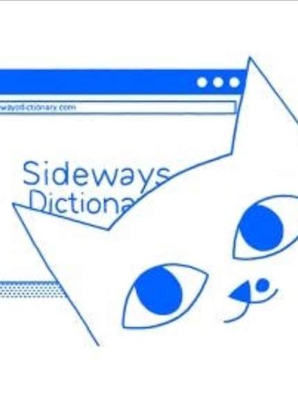 New upvoted product on Product Hunt: Sideways Dictionary