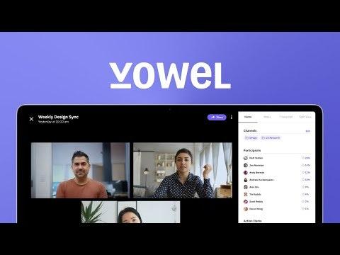 Vowel Product Hunt Image