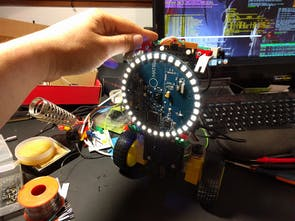 MATRIX Creator - Raspberry Pi Dev Board w/ 8 Mics, FPGA, MC