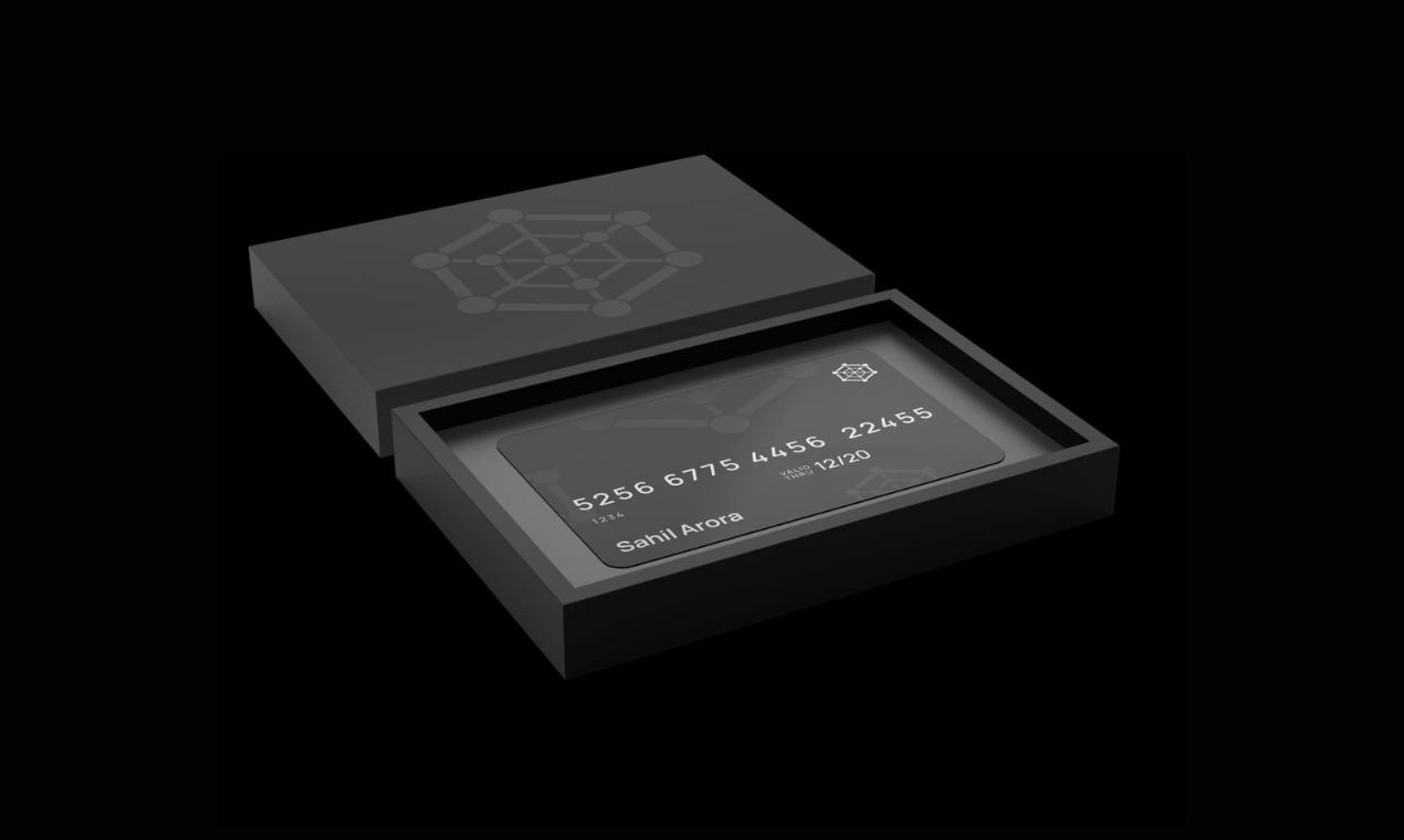 ZPAE Crypto Card Product Hunt Image