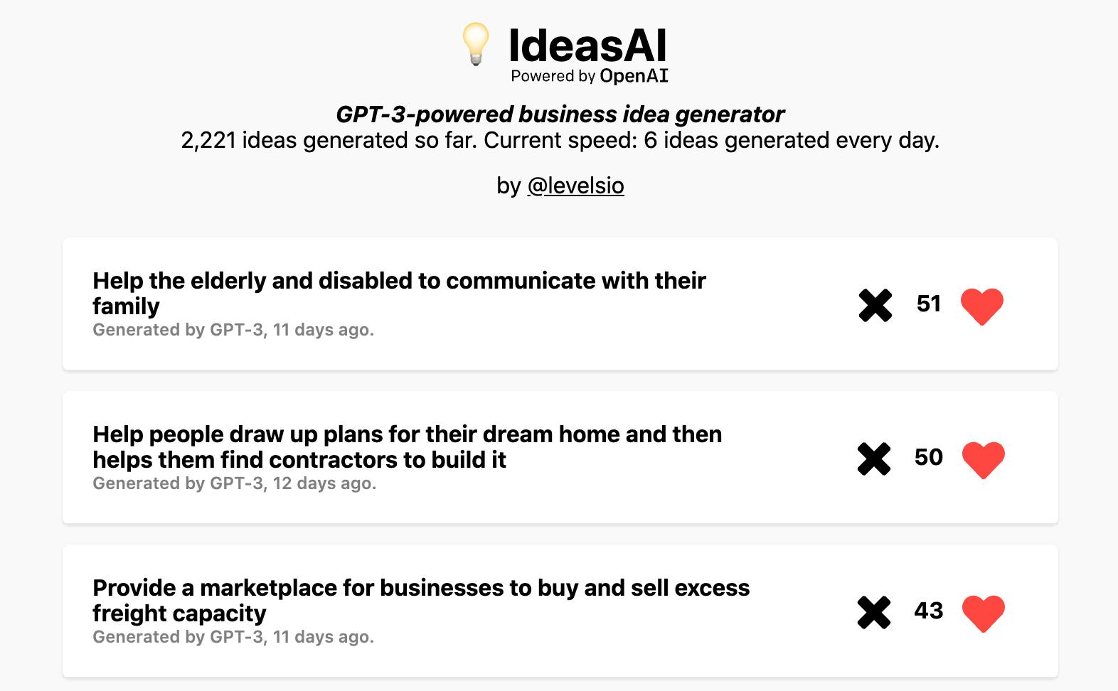 IdeasAI Product Hunt Image