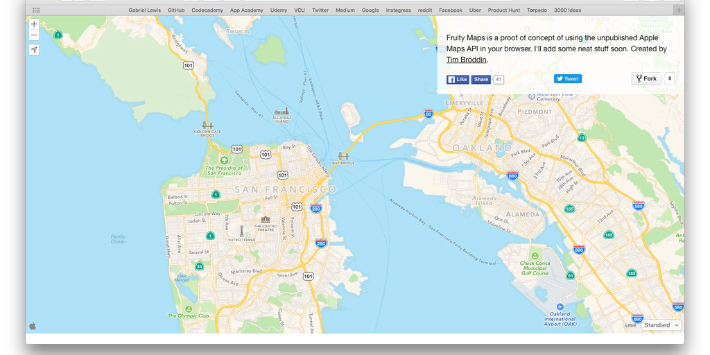 fruity maps product hunt