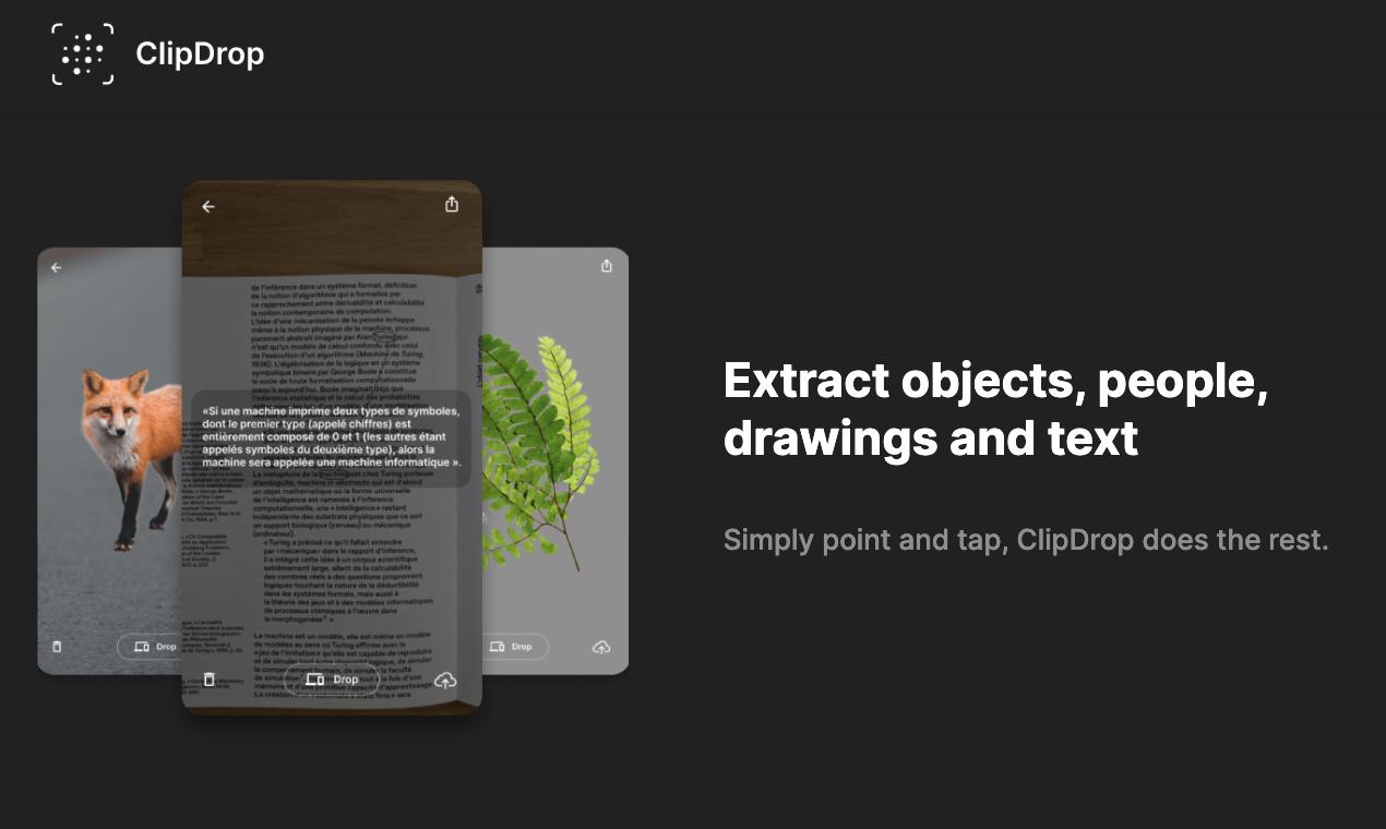 ClipDrop Product Hunt Image