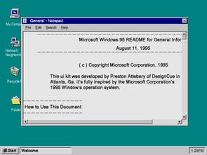 Windows 95 Icons