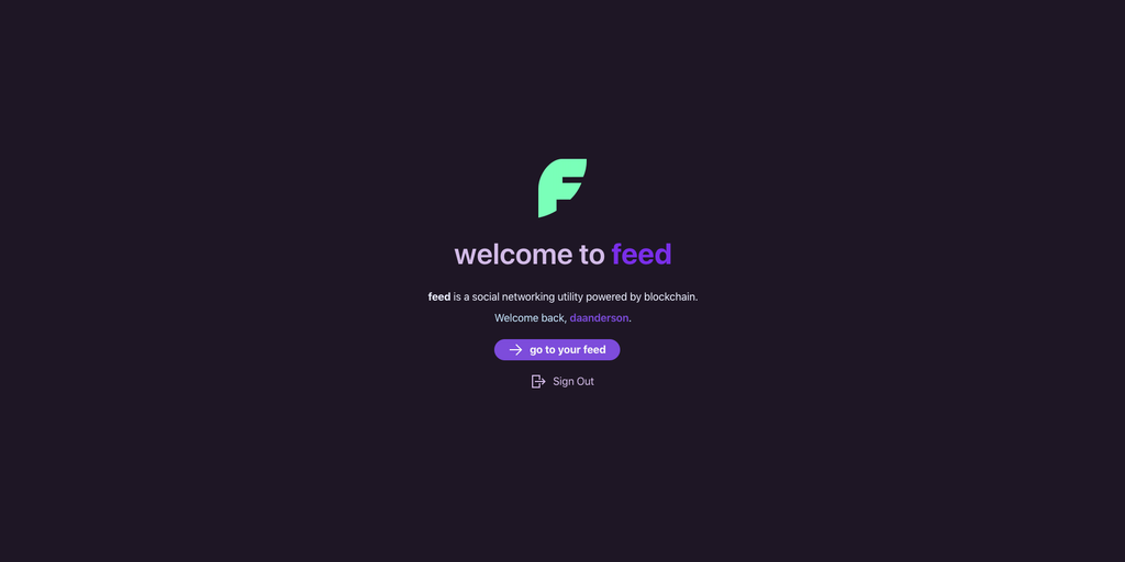 Feed - A social networking & microblogger powered by blockchain | Product Hunt