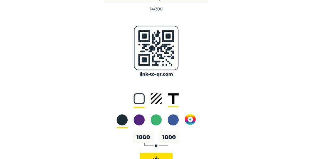 Link to QR - Free beautiful QR codes | Product Hunt