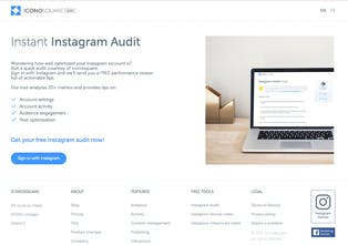 Instant Instagram Audit - A free tool to run a quick audit of your