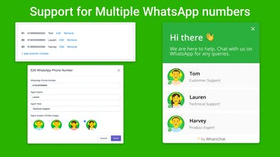WhatsApp Chat for Shopify - Convert website visitors into