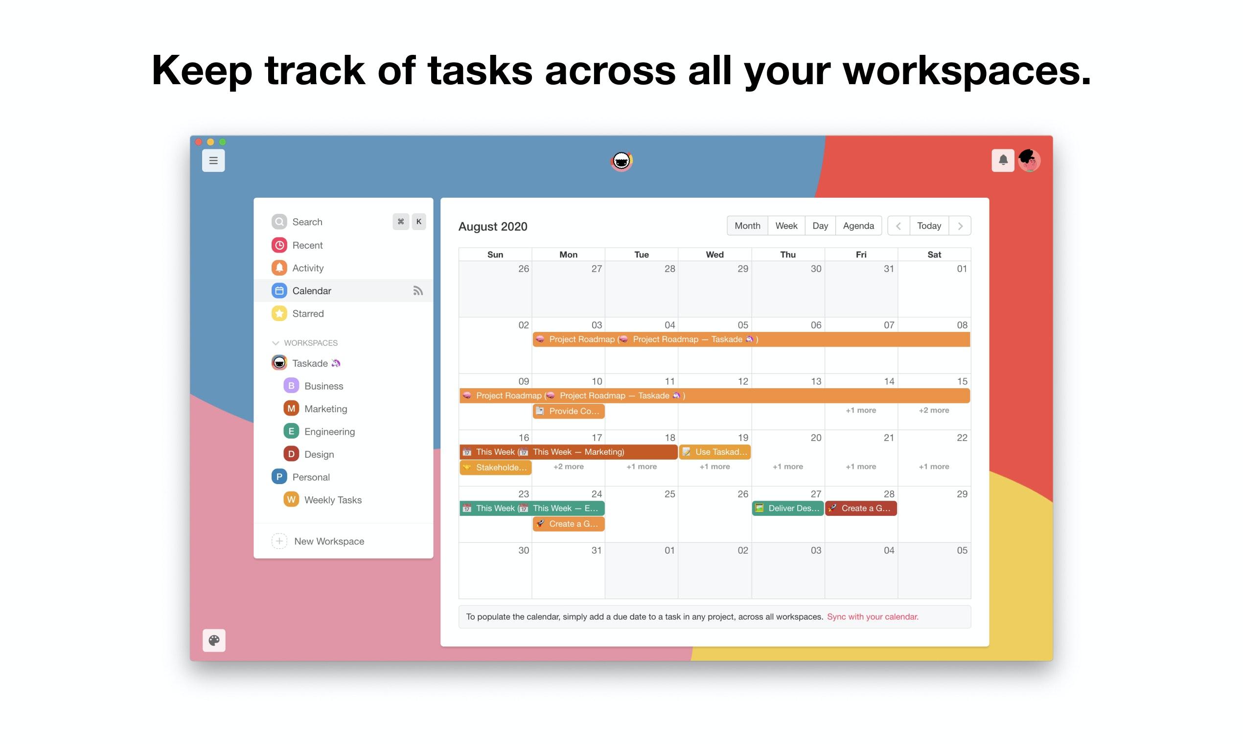 Taskade 3.0 Product Hunt Image