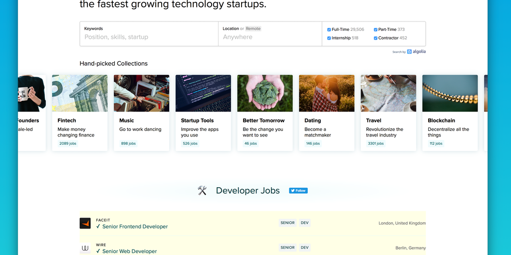 Job Collections by BetaList - Find a startup job you'll love