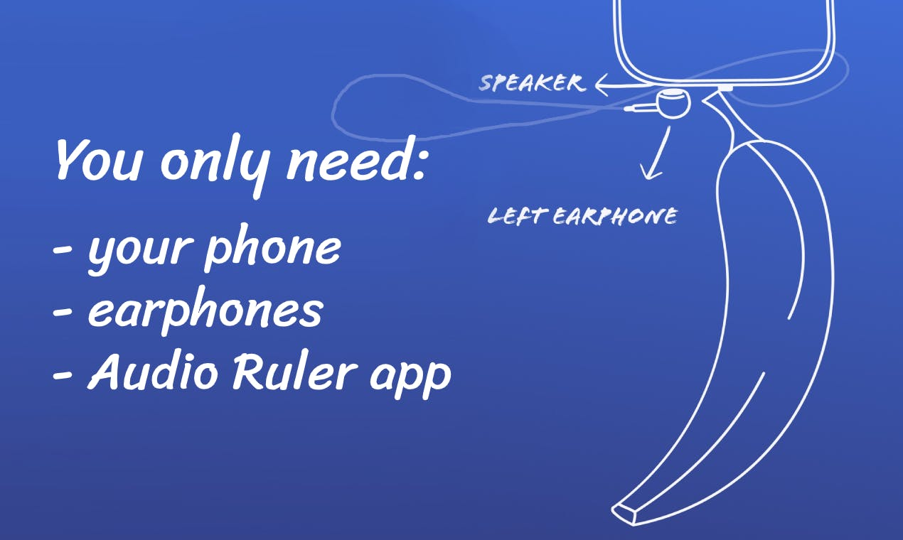 Audio Ruler The New Way Of Measuring Distances With Your Iphone Product Hunt